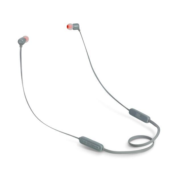 JBL TUNE 110BT - Grey - Wireless in-ear headphones - Hero