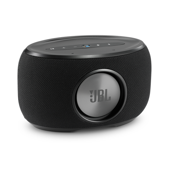 JBL Link 300 - Black - Voice-activated speaker - Back