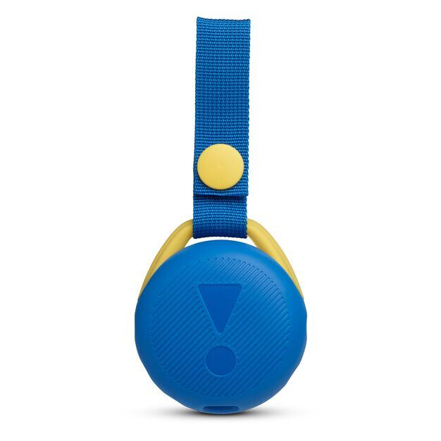 JBL JR POP - Cool Blue - Portable speaker for kids - Back