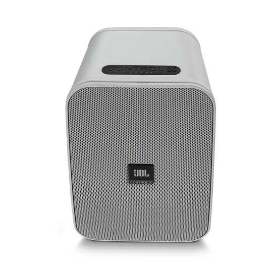 """JBL Control X Wireless - White - 5.25"""" (133mm) Portable Stereo Bluetooth® Speakers - Front"""