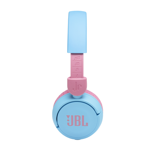 JBL Jr310BT - Blue - Kids Wireless on-ear headphones - Detailshot 1