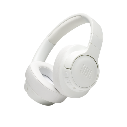 JBL TUNE 700BT - White - Wireless Over-Ear Headphones - Hero