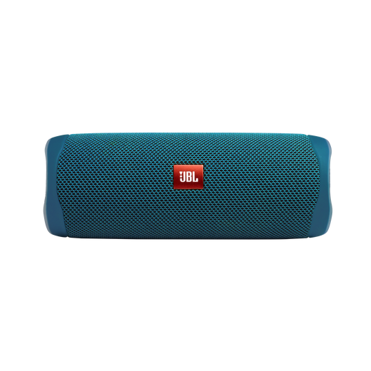 JBL Flip 5 Eco edition - Ocean Blue - Portable Speaker - Eco edition - Front