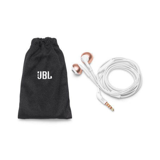 JBL TUNE 205 - Rose Gold - Earbud headphones - Detailshot 2