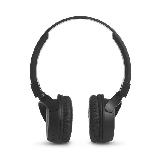 JBL T460BT - Black - Wireless on-ear headphones - Front