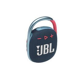 JBL CLIP 4 - Blue / Pink - Ultra-portable Waterproof Speaker - Hero