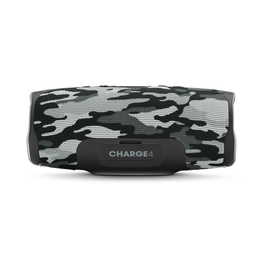 JBL Charge 4 - Black/White Camouflage - Portable Bluetooth speaker - Back