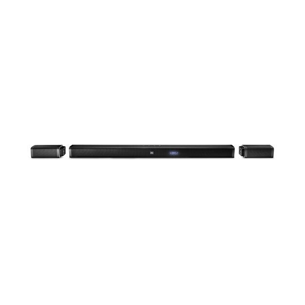 JBL Bar 5.1 - Black - 5.1-Channel 4K Ultra HD Soundbar with True Wireless Surround Speakers - Front
