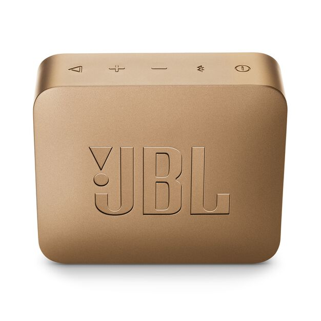 JBL GO 2 - Pearl Champagne - Portable Bluetooth speaker - Back