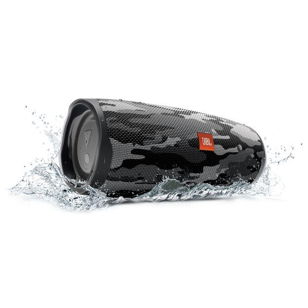 JBL Charge 4 - Black/White Camouflage - Portable Bluetooth speaker - Detailshot 5