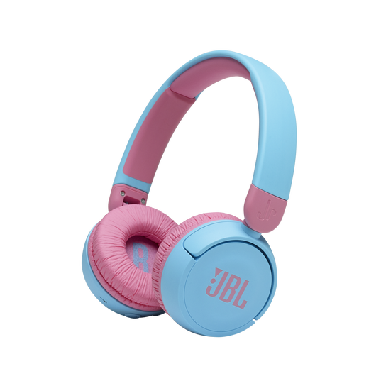 JBL Jr310BT - Blue - Kids Wireless on-ear headphones - Hero