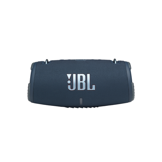 JBL Xtreme 3 - Blue - Portable waterproof speaker - Front