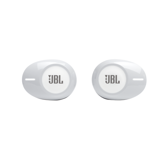 JBL Tune 125TWS - White - True wireless in-ear headphones - Front