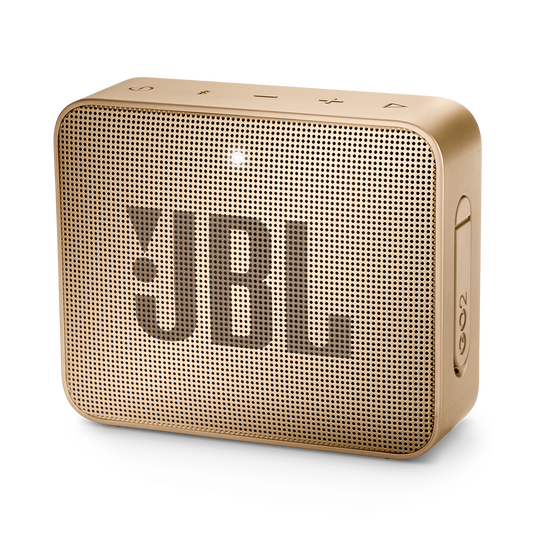 JBL GO 2 - Pearl Champagne - Portable Bluetooth speaker - Hero