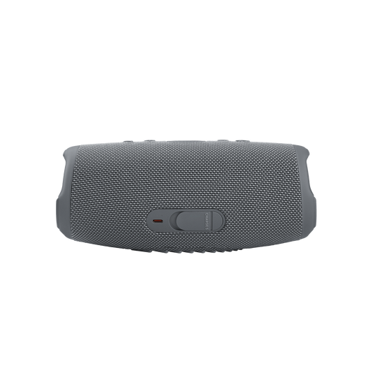 JBL CHARGE 5 - Grey - Portable Waterproof Speaker with Powerbank - Back