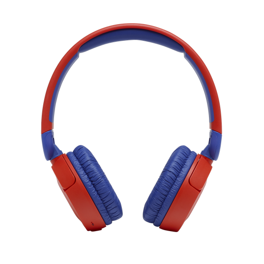 JBL Jr310BT - Red - Kids Wireless on-ear headphones - Front