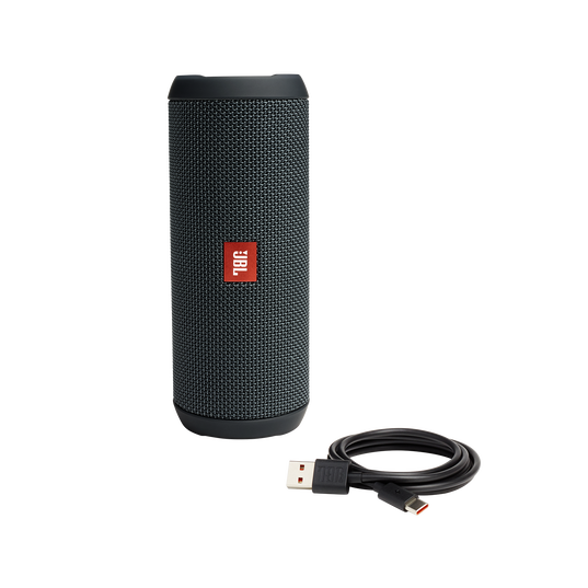 JBL Flip Essential - Gun Metal - Portable Bluetooth® speaker - Detailshot 1
