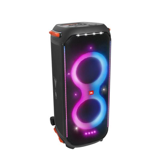 JBL Partybox 710 - Black - Party speaker with 800W RMS powerful sound, built-in lights and splashproof design. - Hero