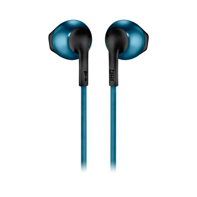 JBL TUNE 205BT - Blue - Wireless Earbud headphones - Back
