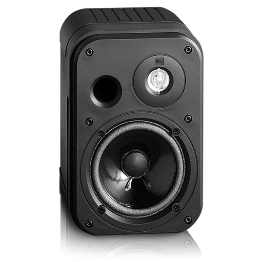 "Control One - Black - 2-Way, 100mm (4"") Bookshelf Speaker - Detailshot 1"