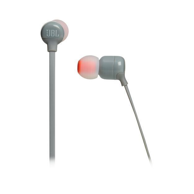 JBL TUNE 110BT - Grey - Wireless in-ear headphones - Detailshot 3