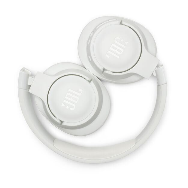 JBL TUNE 750BTNC - White - Wireless Over-Ear ANC Headphones - Detailshot 2