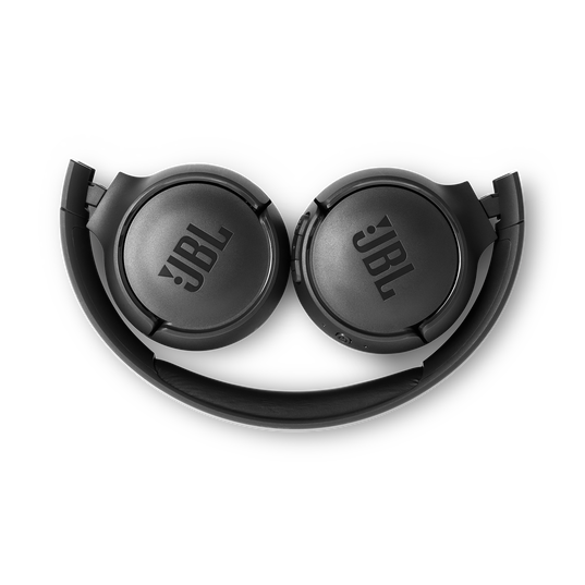 JBL TUNE 500BT - Black - Wireless on-ear headphones - Detailshot 3