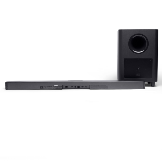 JBL Bar 5.1 Surround - Black - 5.1 channel soundbar with MultiBeam™ Sound Technology - Detailshot 2