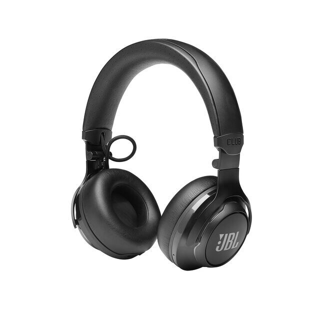 JBL CLUB 700BT - Black - Wireless on-ear headphones - Left