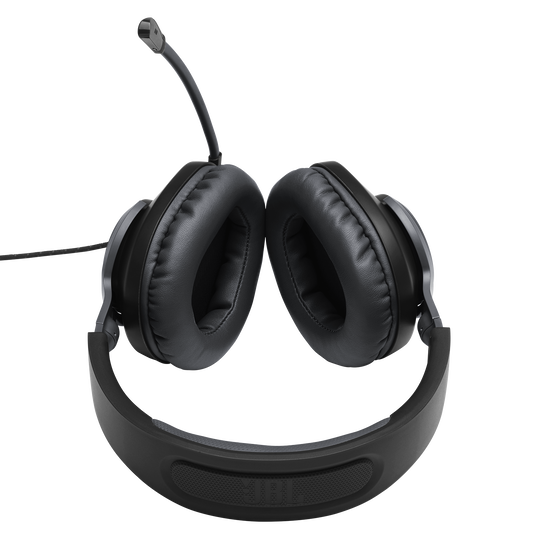 JBL Quantum 100 - Black - Wired over-ear gaming headset with a detachable mic - Detailshot 5