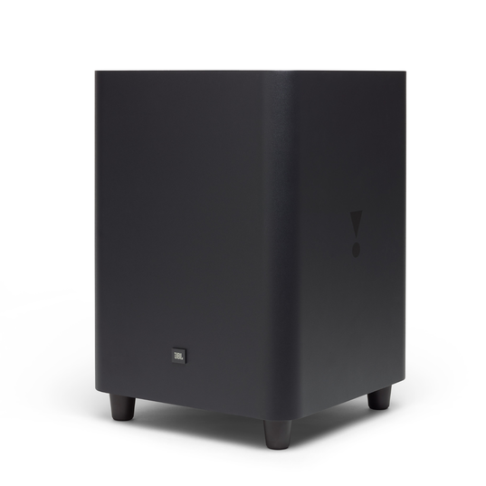 "JBL SW10 - Black - 10"" Powered Wireless Subwoofer for JBL LINK BAR - Hero"