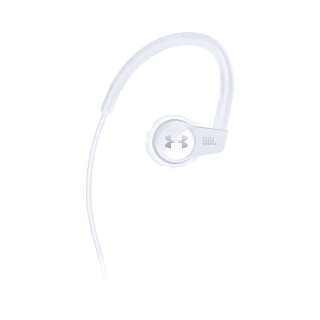 China:- - White - Heart rate monitoring, wireless in-ear headphones for athletes - Front