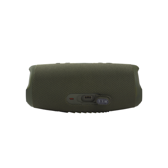 JBL CHARGE 5 - Forest Green - Portable Waterproof Speaker with Powerbank - Detailshot 1