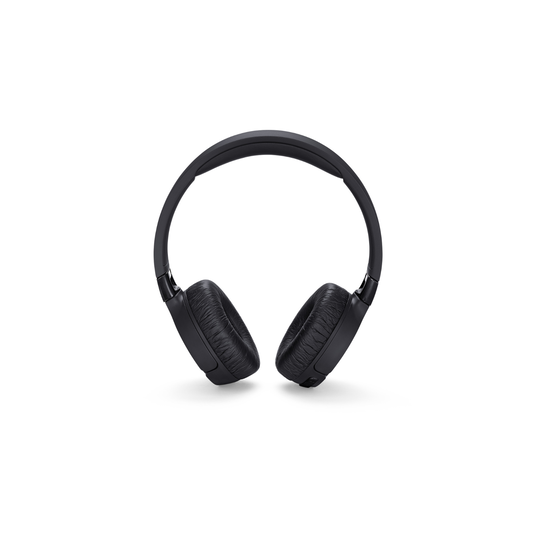 JBL TUNE 660BTNC - Black - Wireless, on-ear, active noise-cancelling headphones. - Front