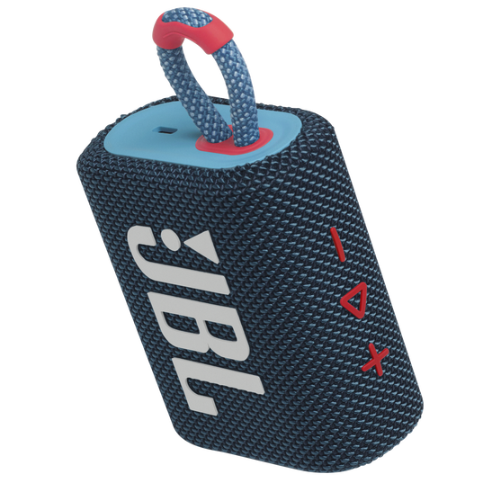 JBL GO 3 - Blue / Pink - Portable Waterproof Speaker - Detailshot 2